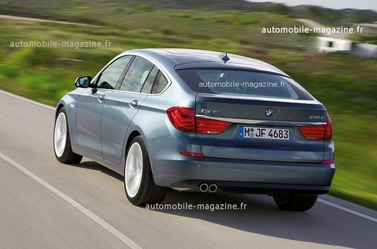 BMW 5-Series GT: First Press Photos Reveal Seriously Big Butt