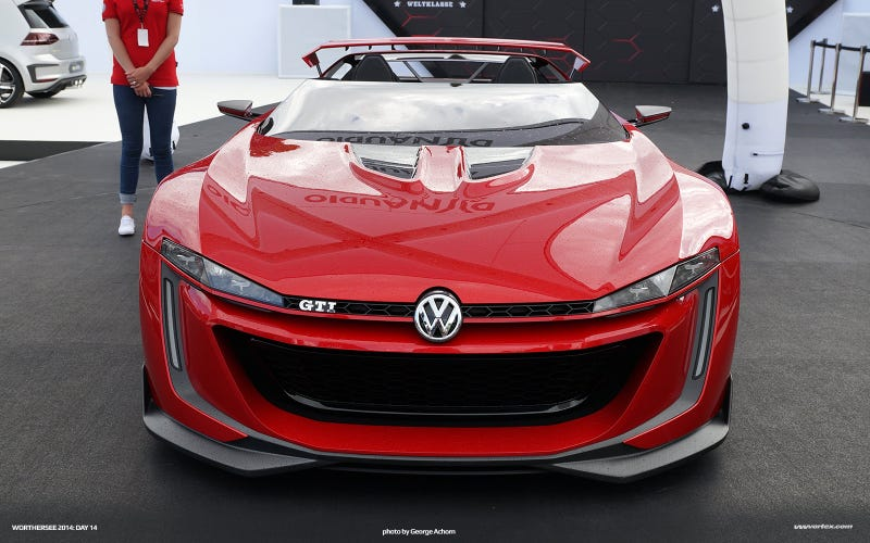 The Volkswagen GTI Vision Gran Turismo Is Bonkers In Real Life
