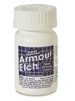 Armor Etch Removes Scratched Coating from Glasses