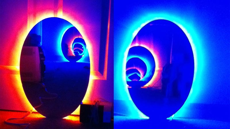 Too Bad You Can't Actually Travel Across The Room With These Portals