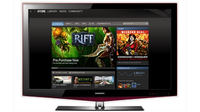 Steam Plans To Take Over Your Television