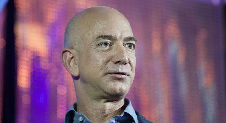 Jeff Bezos Was Rescued By Ecuadorian Navy So He Could Pass Kidney Stone