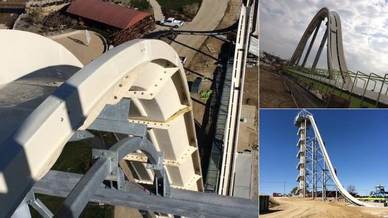 World's Tallest Water Slide Looks Like It will Burn Your Butt Right Off