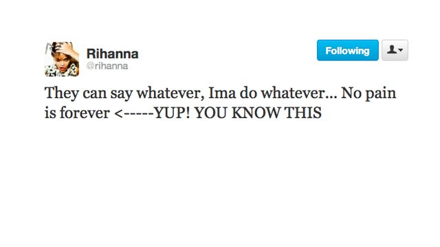 Yikes, Is Rihanna Referencing Who We Think She's Referencing?