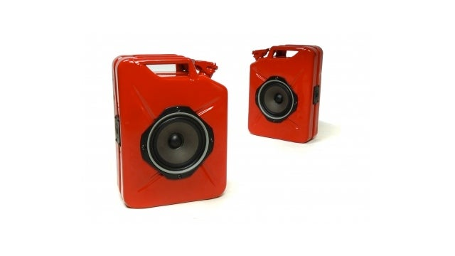 These Jerrycan Speakers Deliver Sound, Not Fuel