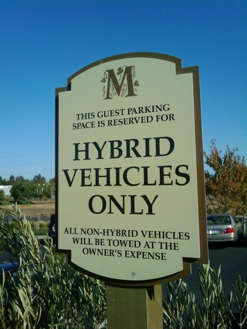 Hotel Finds New Way To Get Hybrids Keyed