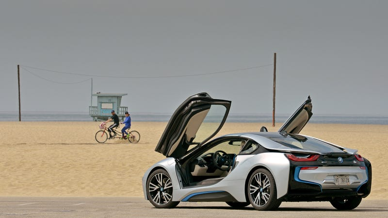 The BMW i8 Is The Gorgeous Beta Of A Car You'll Eventually Own