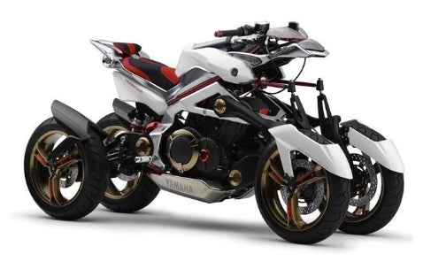 V-Twin, And Then Some: Yamaha Tesseract Concept 2