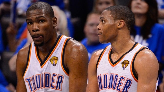 What Dwyane Wade And LeBron James Can Learn From Kevin Durant And Russell Westbrook After Game 1