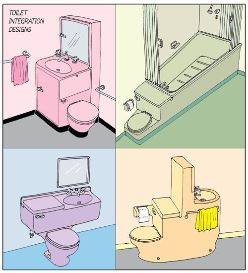 Toilets, Toilets, Everywhere, Nor Any Place to Poop