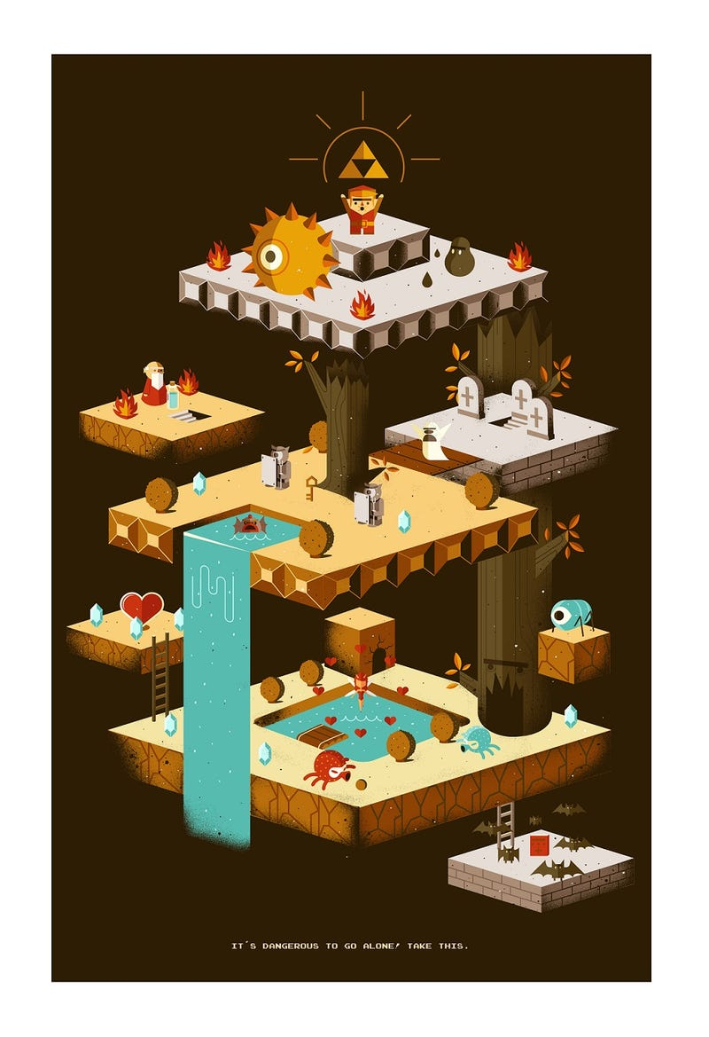 For Sale: Freakin' Amazing Nintendo Art