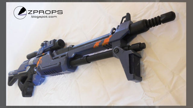 Crafty Man Builds Mass Effect Sniper Rifle