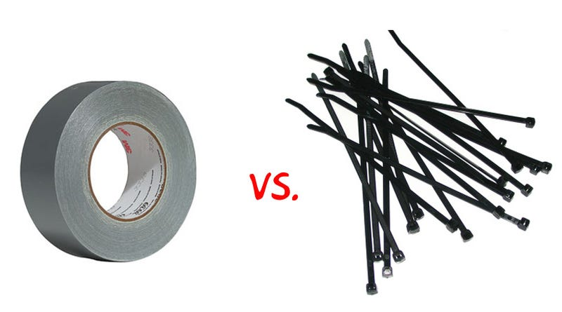 Duct Tape or Zip-Ties: Which Is Your Favorite Quick Fix?