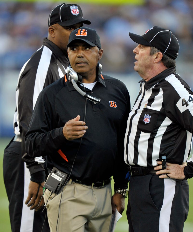 "Marvin Lewis's Opinion Of The Replacement Refs? ""Whatever The Commissioner Says Is Right."""