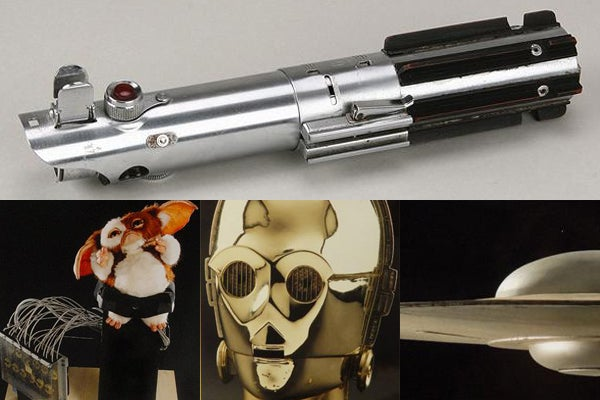 Buy Luke's Original Lightsaber for $185,000, Gizmo Animatronic for $5,000