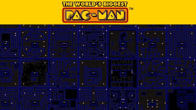 This is the World's Biggest Pac-Man Game