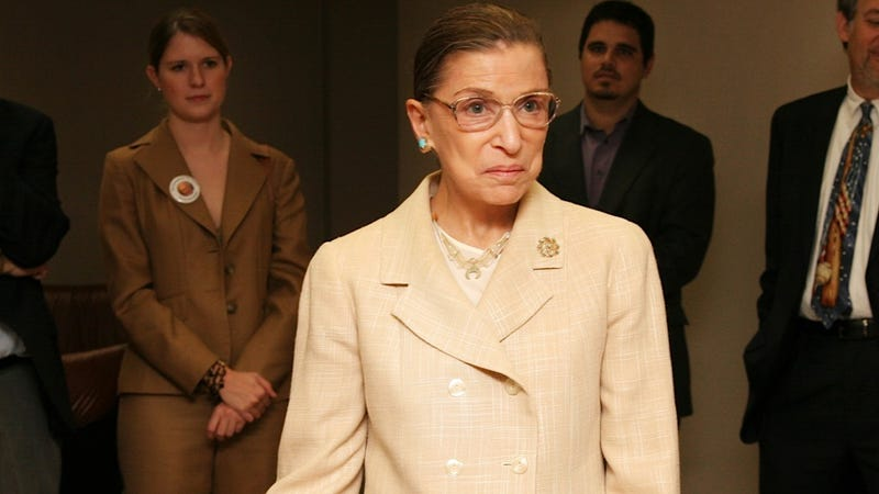 Ruth Bader Ginsburg Is Probably Hanging Up Her Water Skis for Good
