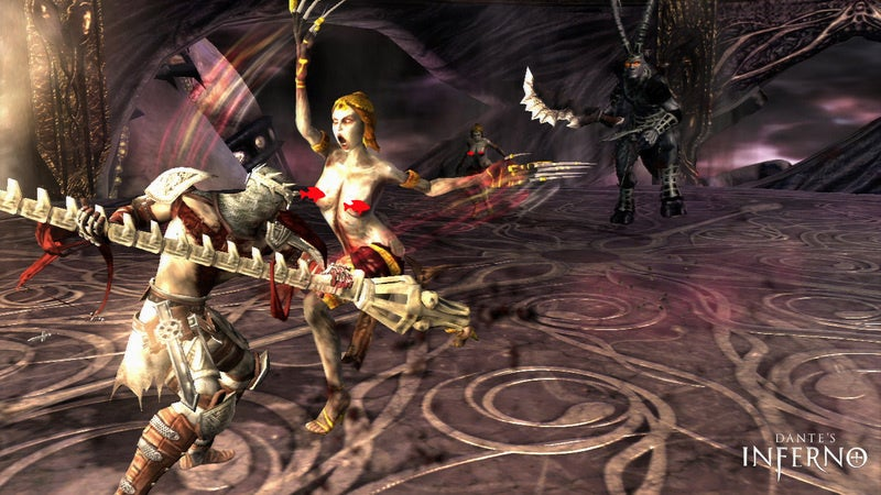 Dante's Inferno Lust Impressions: Breast Bosses And Phallic Walls