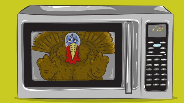 How to Cook Thanksgiving Dinner in Your Microwave