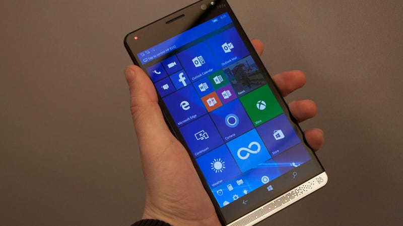 HP's Elite x3 Is a Beastly Smartphone...Running Windows
