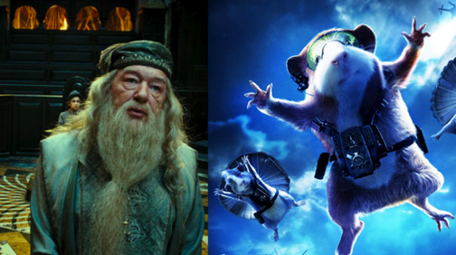 Dumbledore's Corpse Eaten by Guinea Pigs, Potter Enslaved and Forced to Run On Giant Wheel