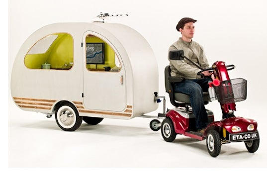 The World's Smallest Trailer Can Be Pulled By a Scooter