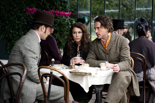 Sherlock Holmes: Game of Shadows promo photos