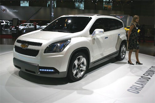 Chevy Orlando Concept Unveiled In Paris, Shows What Pontiac Aztek Could Have Been