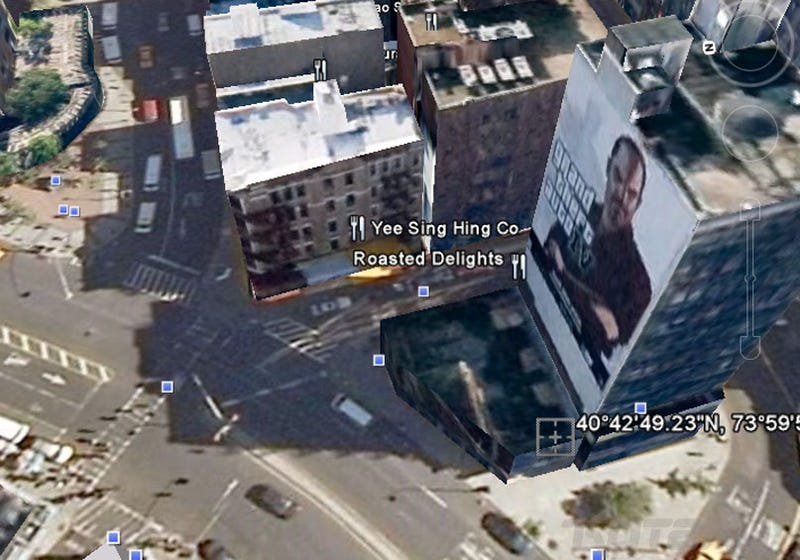 You Seem To Have Got GTAIV In My Google Earth