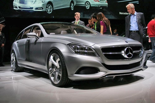Mercedes CLS Shooting Brake: Yes, They're Really Building It