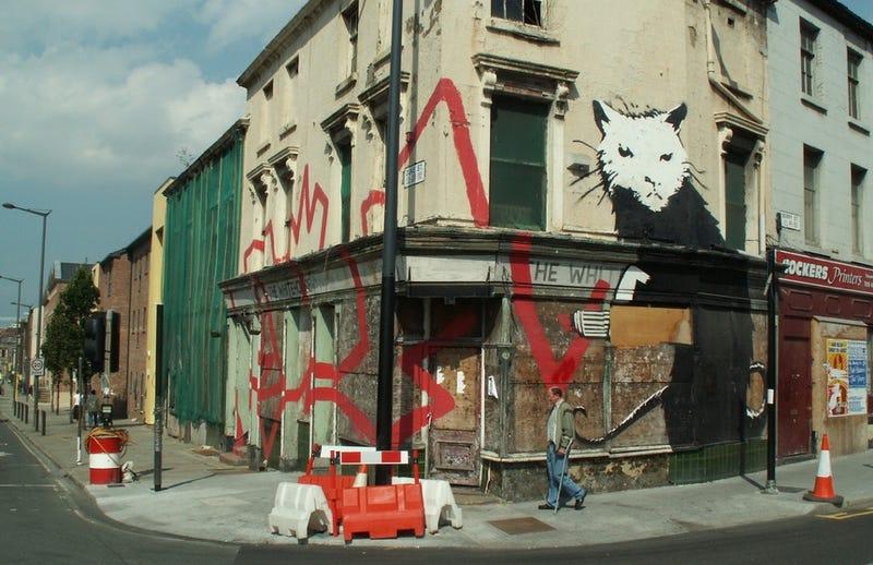 No, Banksy Probably Didn't Get Arrested