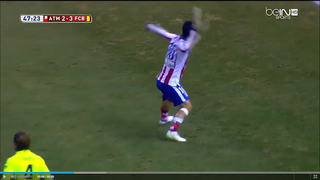Atlético-Barcelona Game Goes Insane When Player Throws Shoe At Ref