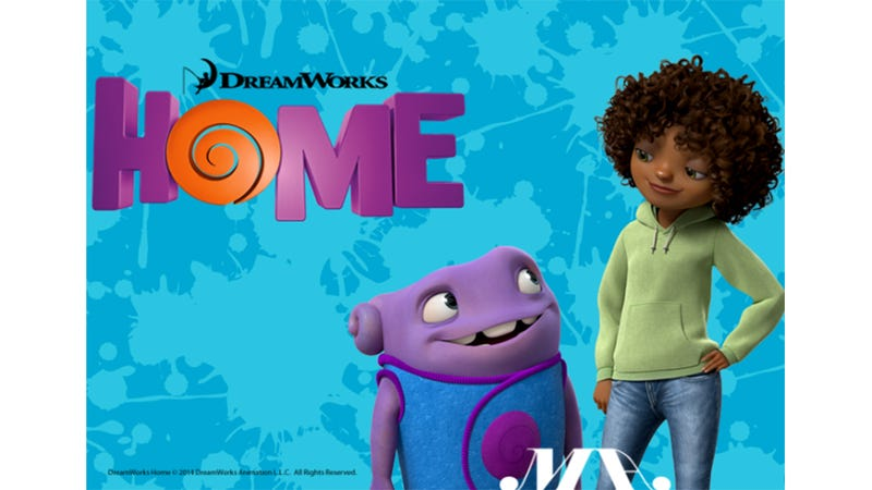 Home Is the First 3D Animated Film Starring A Black Character