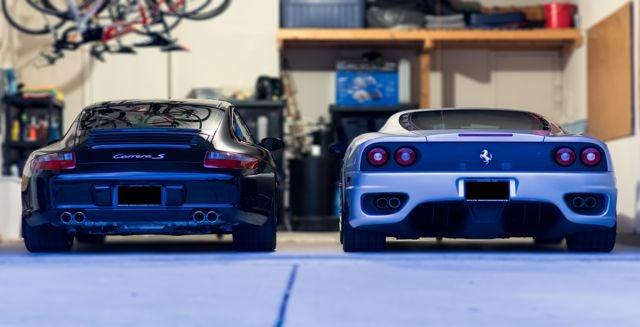 Even a Ferrari can't replace a Porsche