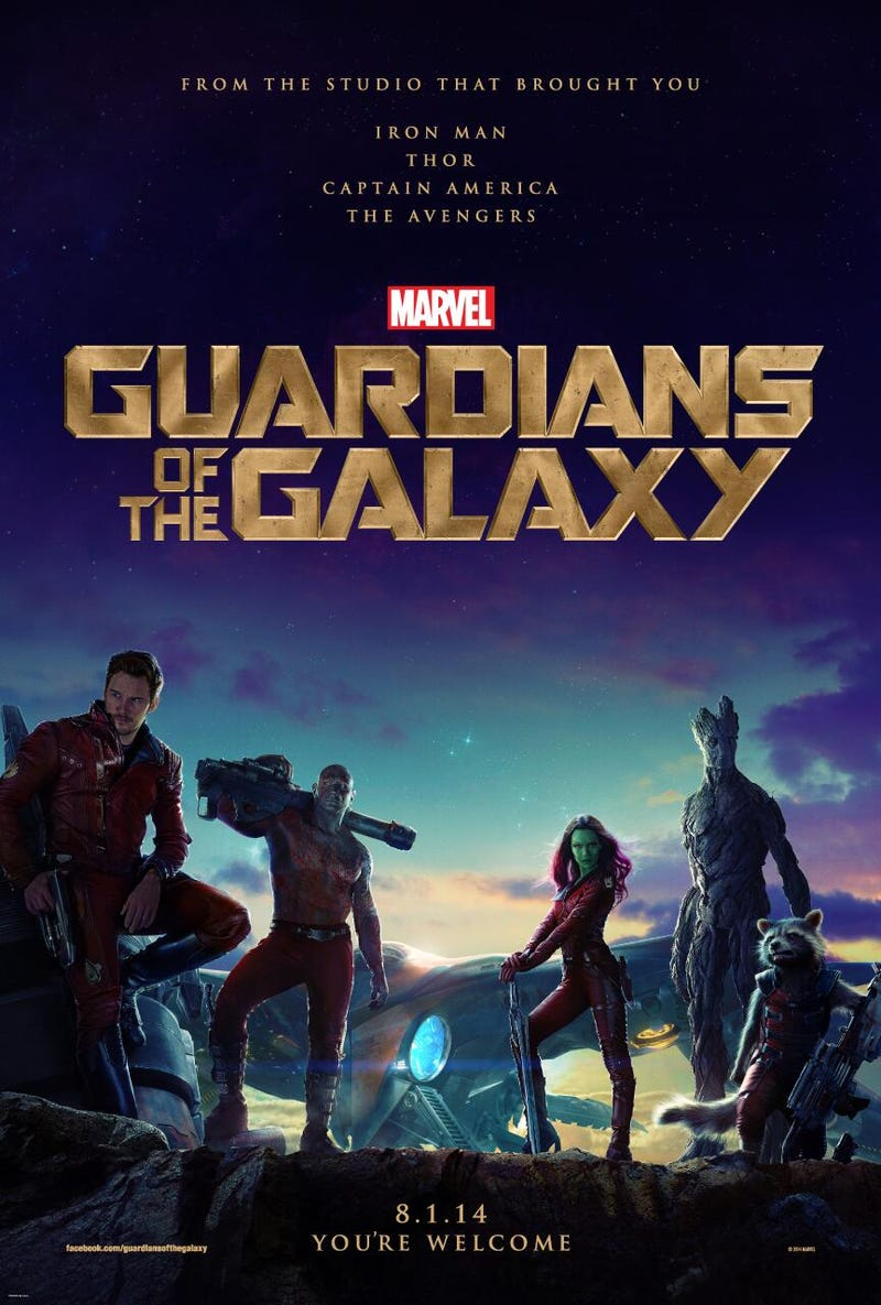 First Guardians of the Galaxy Poster Brings the Snark