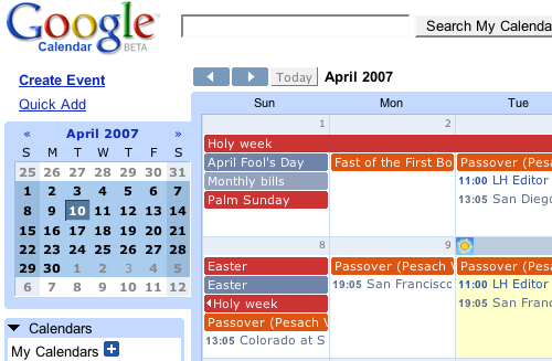Geek to Live: Black belt scheduling with Google Calendar