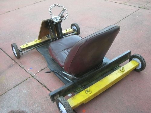 Illegal Soapbox Derby Racer Gets Mystery Seat
