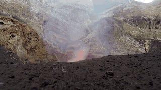 Varios drones acabaron abrasados escaneando en 3D este peligroso volcán