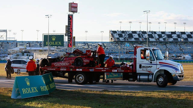 Why didn't this 100 mph crash at Daytona kill Memo Gidley?