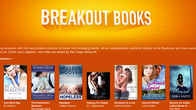 Visit Apple's iBookstore for a Curated Selection of Self-Published Soft Porn