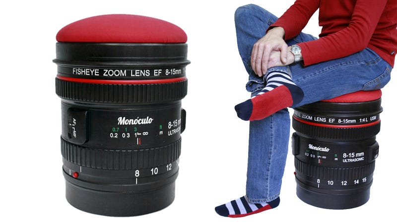 You Won't Mind That This Giant Lens Is Soft