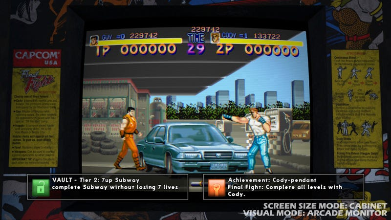 Final Fight: Double Impact Screens