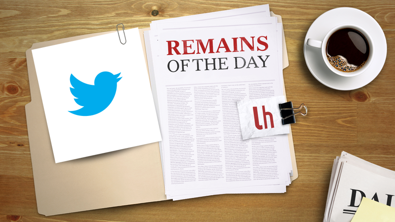 Remains of the Day: Time to Add Header Photos to Twitter