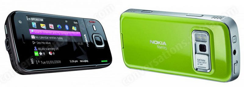 Nokia Rolls Out N85 and N79 Smartphones