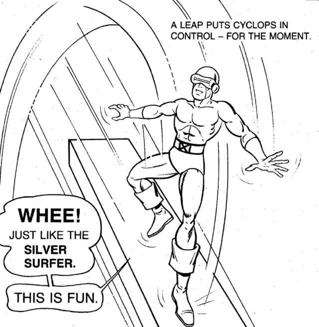 The 1983 X-Men Coloring Book Is A Lost Psychedelic Masterpiece