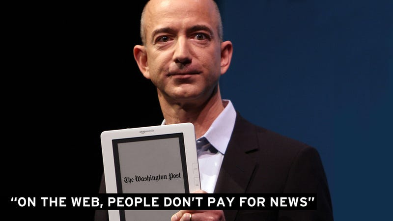 What Can the Washington Post Expect From Its New Owner Jeff Bezos?