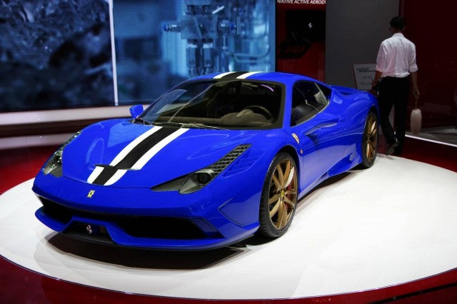 458 Replacement to be turbo charged?
