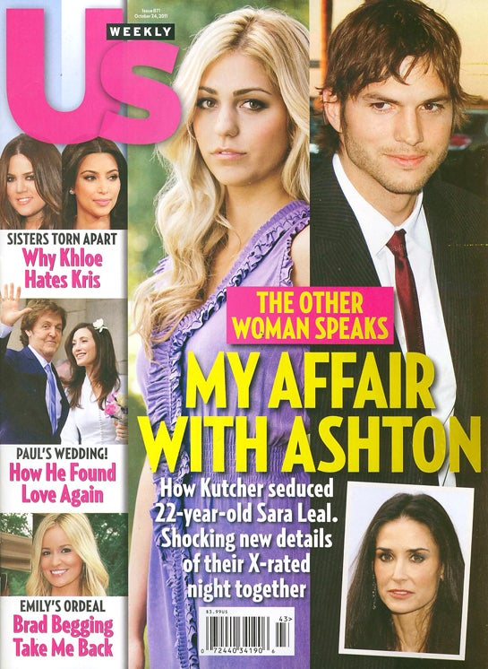 This Week In Tabloids: Ashton's One Night Stand Was Almost A Threesome