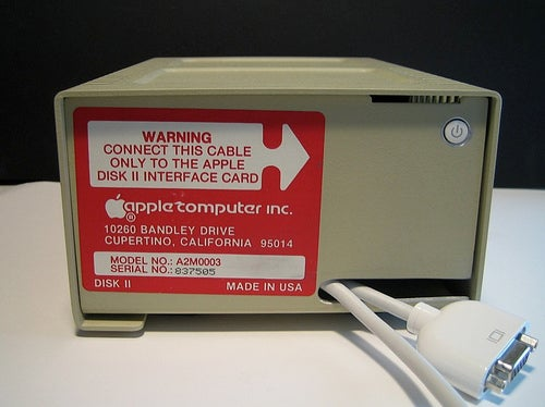 Mac Mini Inside an Apple Disk II Case