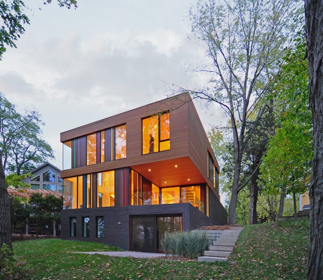 These five amazing houses just won awards for being small for Amazing small houses